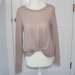 Tops - KNOTTED LONG SLEEVE